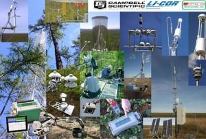 рис-5 Комплексная система приборов и оборудования для изучения влияния глобального изменения климата на северные экосистемы