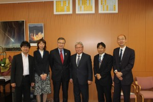 Встреча у замминистра МЕХТ, Япония